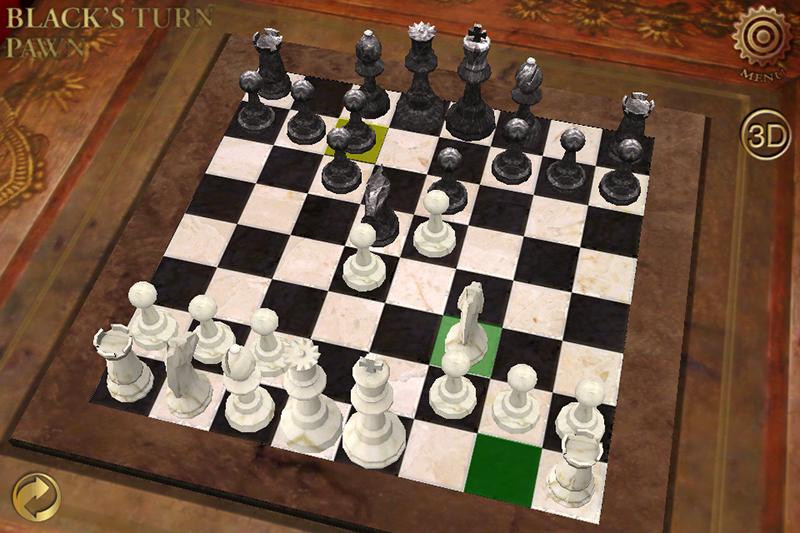 E.G. Chess full screenshot