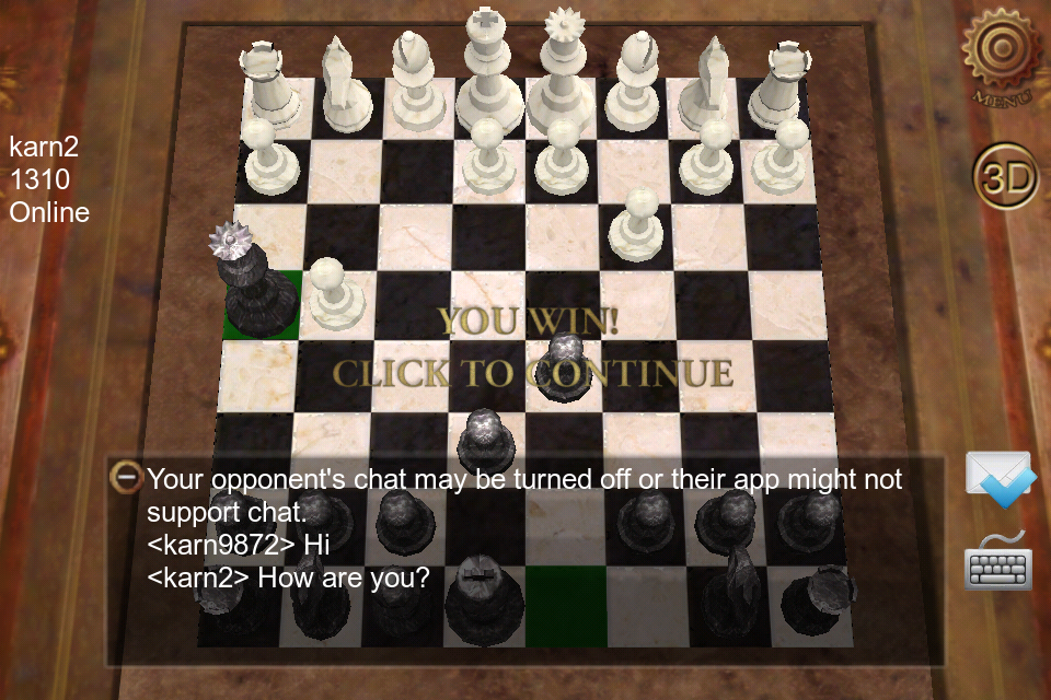 E G  Chess (Android) | Earth Gaming